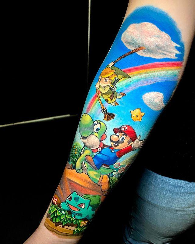 Wiesbaden-Pokemon-Tattoo